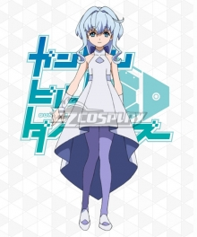 Gundam Build Divers Sarah Cosplay Costume