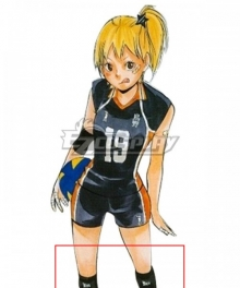 Haikyu!! Haikyuu!! Karasuno High School Hitoka Yachi Kneepad Cosplay Accessory Prop