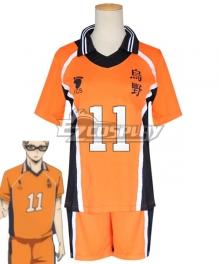 Haikyuu!! Season 4 Haikyuu!!: To the Top Kei Tsukishima New Uniform Cosplay Costume