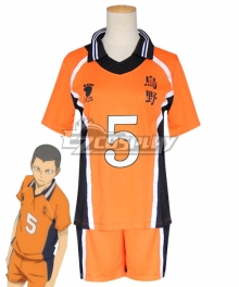 Haikyuu!! Season 4 Haikyuu!!: To the Top Ryuunosuke TANAKA Ryūnosuke Tanaka New Uniform Cosplay Costume