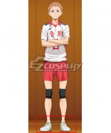 Haikyuu!! Season 4 Haikyuu!!: To the Top Morisuke Yaku White Cosplay Shoes