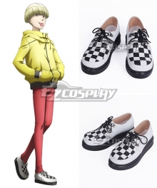 Hakata Tonkotsu Ramens Enokida White Cosplay Shoes