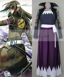 Hakuouki Hijikata Toshizo Fight Cosplay Costume
