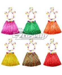 Halloween HawaiiHula Skirt 60cm Cosplay Costume