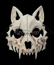 Halloween Teeth Yasha Mask B Cosplay Accessory Prop