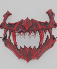 Halloween Teeth Yasha Mask J Cosplay Accessory Prop