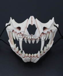 Halloween Teeth Yasha Mask K Cosplay Accessory Prop
