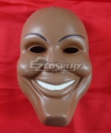 Halloween The Purge 3: Election Year Smile Mask Cosplay Accessory Prop