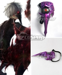 Halloween Tokyo Ghoul Ken Kaneki Centipede Light Mask Cosplay Accessory Prop
