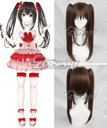 Hand Shakers Kodama Awaza Brown Cosplay Wig