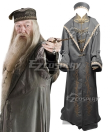 Harry Potter Albus Percival Wulfric Brian Dumbledore Cosplay Costume