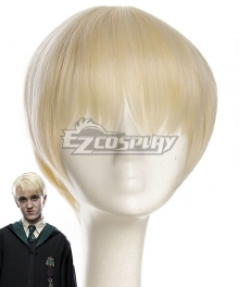 Harry Potter Draco Malfoy Golden Cosplay Wig