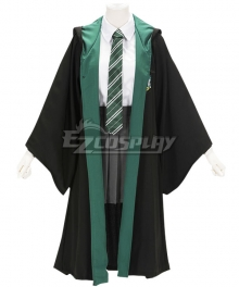 Harry Potter Female Slytherin Robe School Uniform Halloween Cosplay Costume