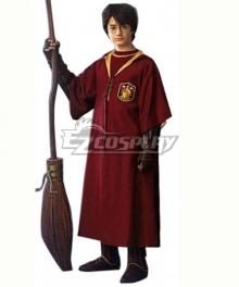 Harry Potter Gryffindor Quidditch Red Uniform Fullset Halloween Cosplay Costume