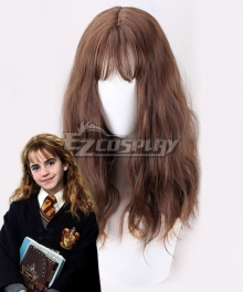 Harry Potter Hermione Jane Granger Hermione Jean Granger Brown New Cosplay Wig