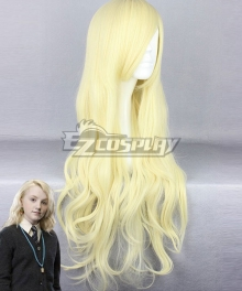 Harry Potter Luna Lovegood Light Golden Cosplay Wig