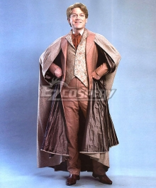 Harry Potter Professor Gilderoy Lockhart Cosplay Costume