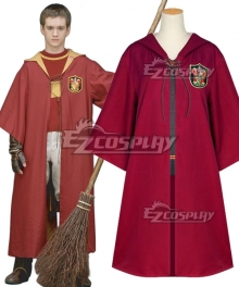 Harry Potter Quidditch Robes Red Cosplay Costume