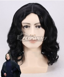 Harry Potter Severus Snape Black Cosplay Wig