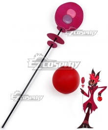 Hazbin Hotel Alastor Staff and Ball Cosplay Weapon Prop