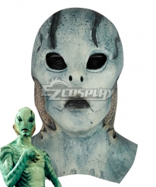 Hellboy: Rise of the Blood Queen Hellboy Call of Darkness Abe Sapien Halloween Mask Cosplay Accessory Prop