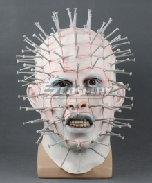 Hellraiser Pinhead Halloween Mask Cosplay Accessory Prop
