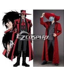 Hellsing Organization Alucard Vampires Cosplay Costume