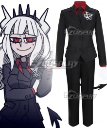 Helltaker Lucifer Cosplay Costume