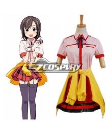 Locodol Yukari Kohinata Uniform Cosplay costume