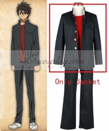High School of the Dead Komuro Takashi School Uniform Cosplay Costume - Only Jacket