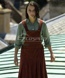 His Dark Materials Lyra Belacqua Cosplay Costume
