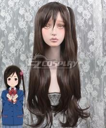 Hitori Bocchi no Marumaru Seikatsu Bocchi Hitori Brown Cosplay Wig