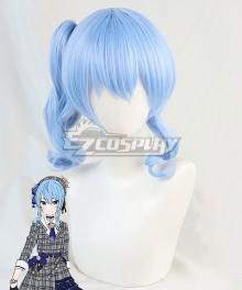 Hololive Vtuber Hoshimachi Suisei Blue Cosplay Wig