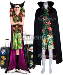 Hotel Transylvania 3: Summer Vacation 2018 Movie Dracula Cosplay Costume