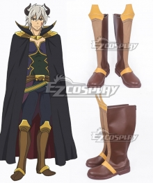 How NOT to Summon a Demon Lord Isekai Maou to Shoukan Shoujo Dorei Majutsu Takuma Sakamoto Diablo Brown Shoes Cosplay Boots