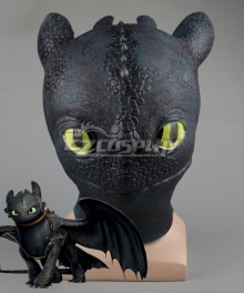 How To Train Your Dragon: The Hidden World Toothless Halloween Cosplay Accessory Prop