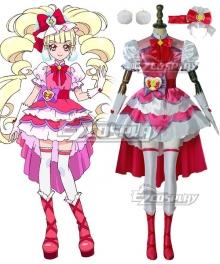 Hugtto! PreCure Aisaki Emiru Cosplay Costume