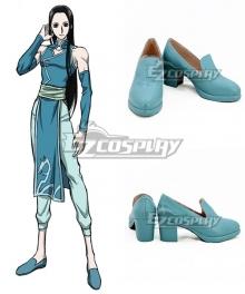 Hunter×Hunter Illumi Zoldyck Blue Cosplay Shoes