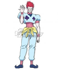 Hunter x Hunter Hisoka Morow Cosplay Costume