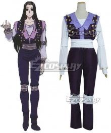 Hunter X Hunter Illumi Zoldyck Purple Cosplay Costume