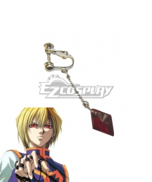 Hunter X Hunter Kurapika Earings Cosplay Accessory Prop