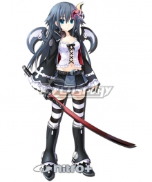 Hyperdimension Neptunia Nitroplus Cosplay Costume