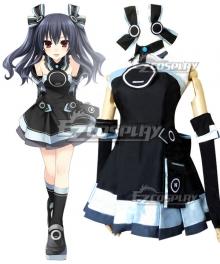 Hyperdimension Neptunia Uni Black Sister Cosplay Costume