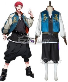 Hypnosis Mic Bad Ass Temple Evil Monk Kuko Harai Cosplay Costume