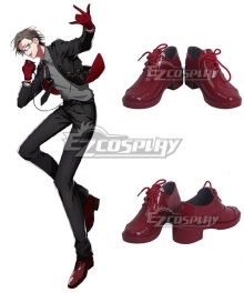 Hypnosis Mic Division Rap Battle 45 Rabbit Juto Iruma Red Cosplay Shoes