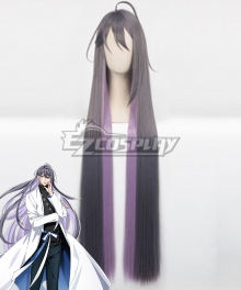 Hypnosis Mic Division Rap Battle Jakurai Junguji Ill-DOC Gray Purple Cosplay Wig