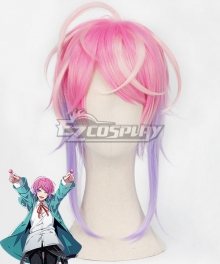 Hypnosis Mic Division Rap Battle Ramuda Amemura Easy R Pink Purple Cosplay Wig