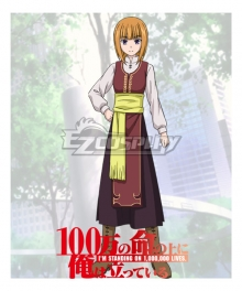 I'm Standing on a Million Lives 100-man no Inochi no Ue ni Ore wa Tatte Iru Iu Shindo Shindou Iu Cosplay Costume