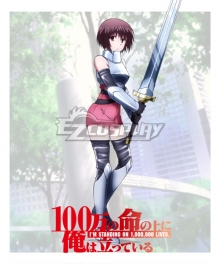I'm Standing on a Million Lives 100-man no Inochi no Ue ni Ore wa Tatte Iru Kusue Hakozaki Cosplay Costume