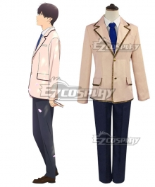 I Want to Eat Your Pancreas Kimi no Suizou wo Tabetai Haruki Shiga Cosplay Costume